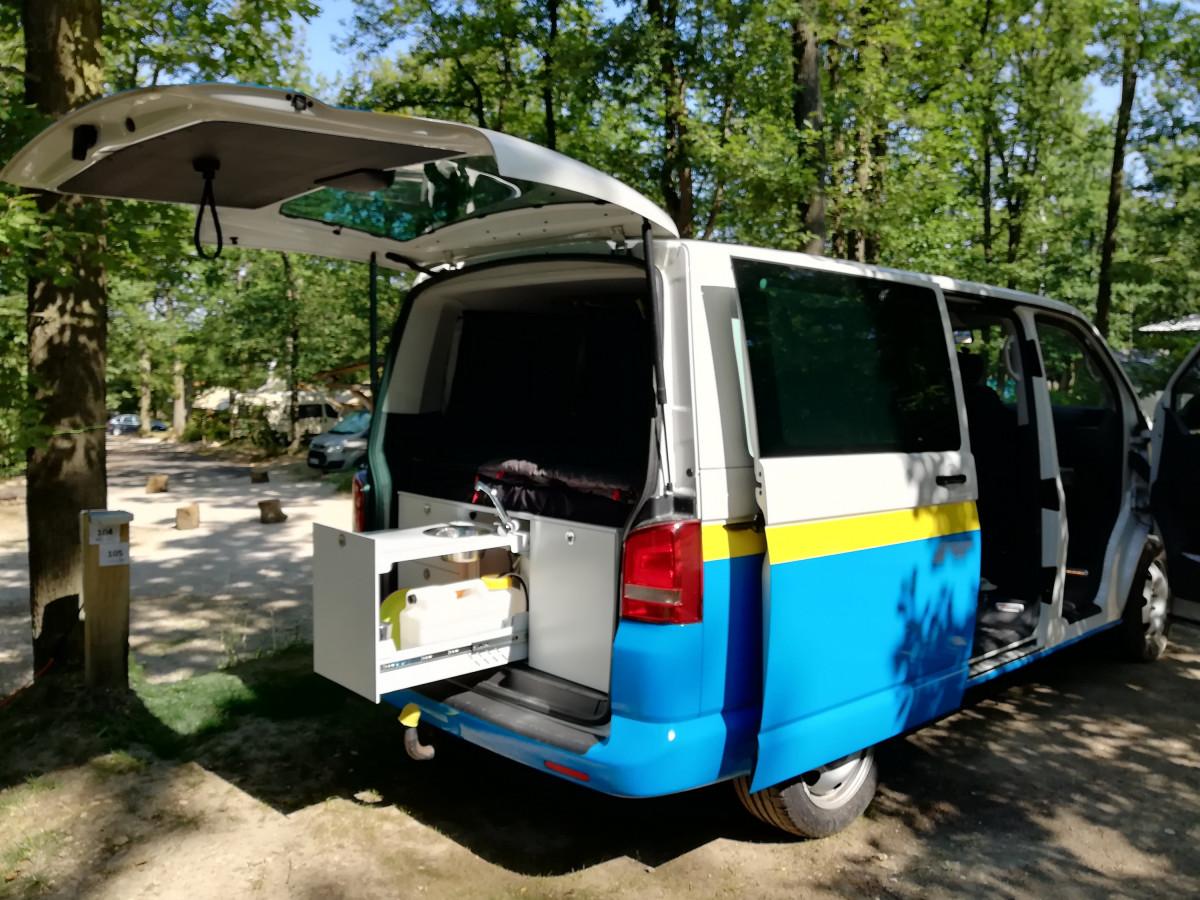 Campingurlaub mit unserem T5 und OSCCAR