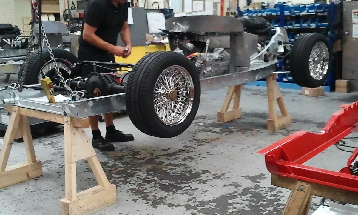 in Malvern Autos bauen