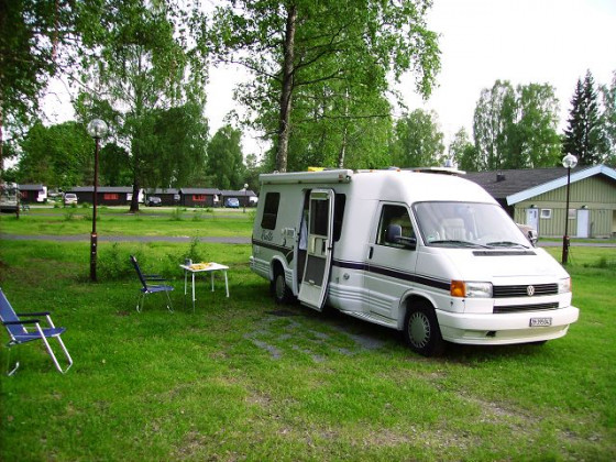 VW T4 Winnebago Rialta Camper