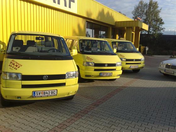 Taxiwagen- Schulbus