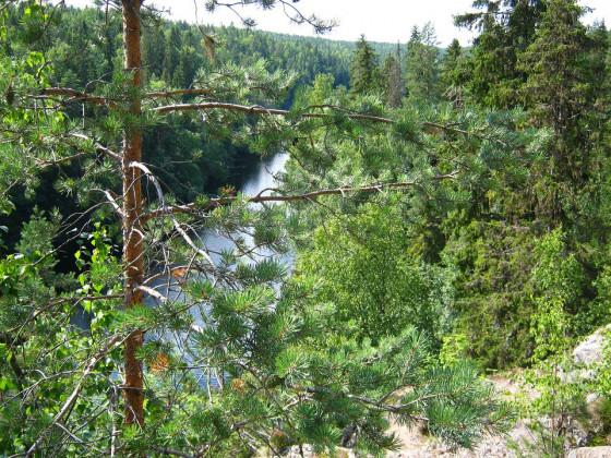 Finnland zwischen Tampere und Virrat