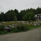 Hjulkyrkogården nahe Töcksfors, Värmland
