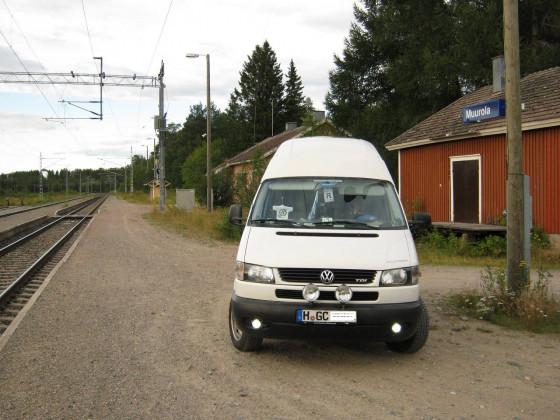Park & Ride auf finnisch