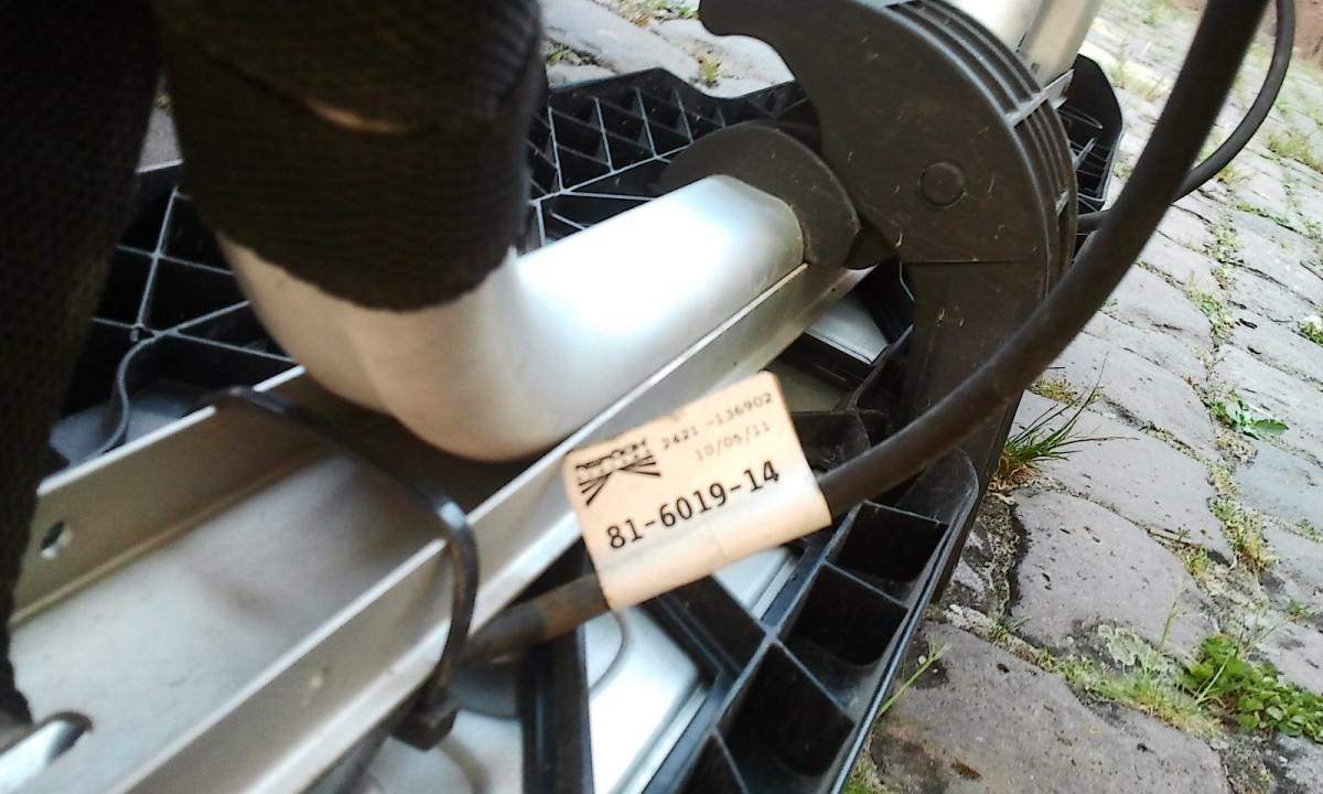 abklappbarer Fahrradträger am T5